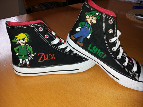 Konstantin´s Super Smash Brothers Shoes
