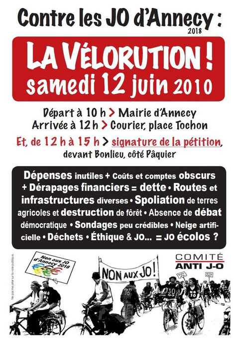 Tract Vélorution anti JO Annecy 2018