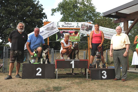 2. Platz - Peter mit Quin - beim 4. ÖGV Cup Ost 15.8.2015