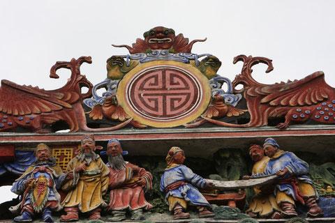 Dachverzierung, Ahnentempel Guangzhou