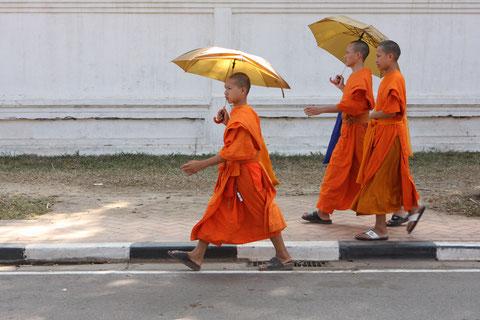 Mönche Vientiane