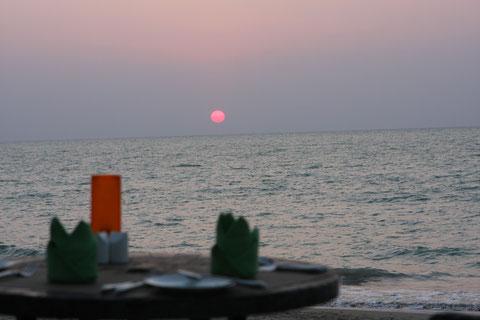 Sonnenuntergang Khao Lak