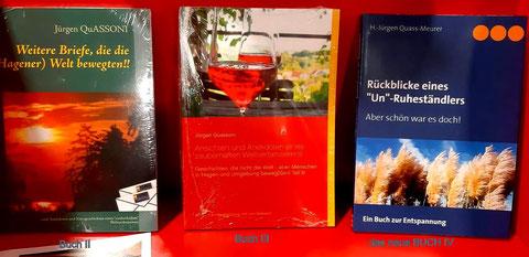 Hier ein Überblick der letzten drei Bücher QuASSONIs