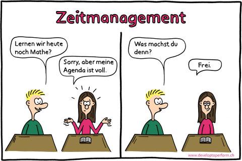 Zeitmanagement, Lerncoaching