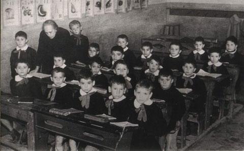 I elementare, anno 1957.