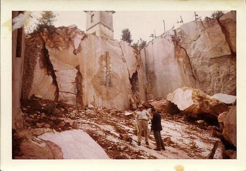 Cava Fallani, 1950 - La foto, inedita, è stata gentilmente concessa dalla sig. Paola Vincenti