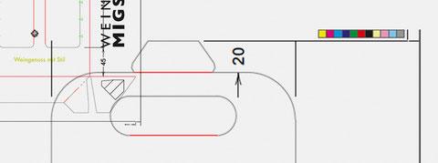 CMYK, Überfüller und Stanzzeichnung - Details aus der Druckdatenerstellung