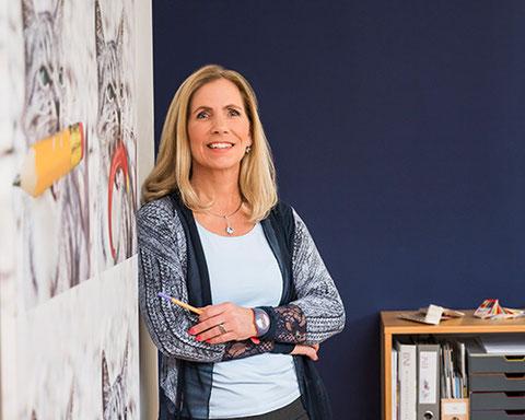 Portrait von Andrea Kurz (Firma Kurzdesign) in Perchtoldsdorf