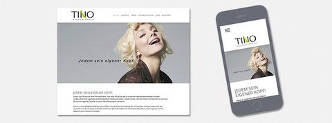Responsive Website Tino Intercoiffeur