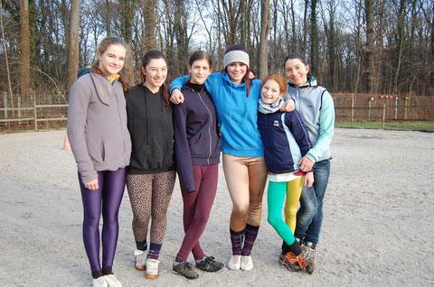 Team 2014 - Nati, Nicole, Vanessa, Jessi, Hedi, Jane