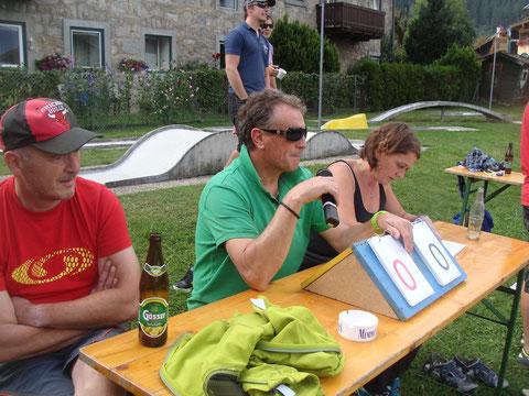 Die Jury, Hans Leutgeb und Lercher Karin