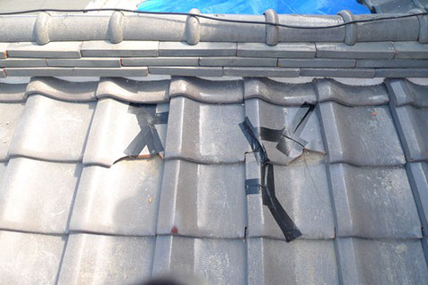 川島町の瓦屋根,解体費用