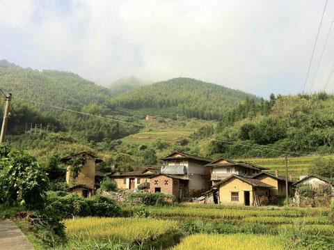 Shijia (Schöne Steine), Fujian Provinz, China