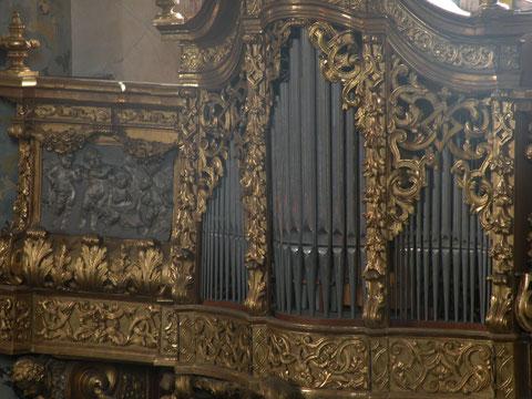 Johann Ignaz Egedacher - 1723 - Gott-Vater-Orgel in der Dreifaltigkeitskirche Stadl-Paura