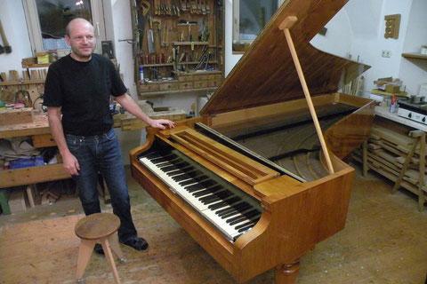Joesi Lint - 2010 - Restaurierung Bösendorfer Hammerclavier, Wien 1845 (Ausgezeichnet mit dem OÖ Handwerkspreis 2010)
