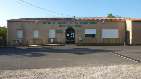 Centre social de Folelli situé allée e fureste - route de la gendarmerie