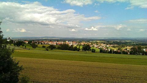 © Traudi -  Panorame Fuchsmühl. Dieses Foto habe ich im Juli 2013 gemacht