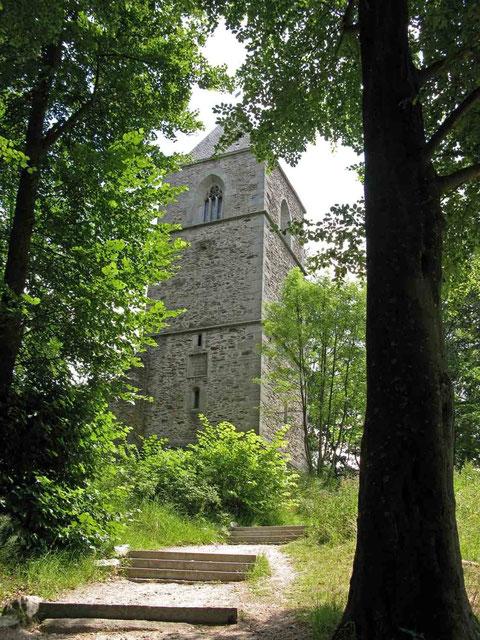 © Traudi - Wunsiedel, Katharinenberg, Kirchenruine Sankt Katharina