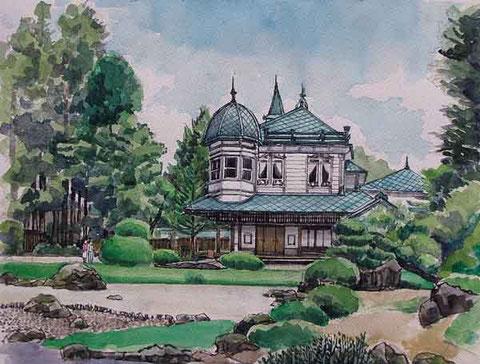 平川市  盛美園