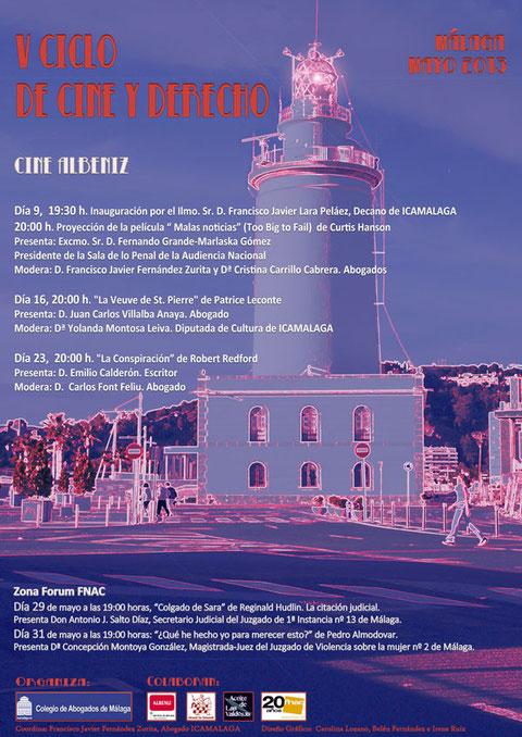 5º ciclo de cine y derecho malaga