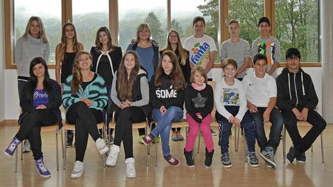 SMV 2014-15 mit Verbindungslehrerin Frau Nann