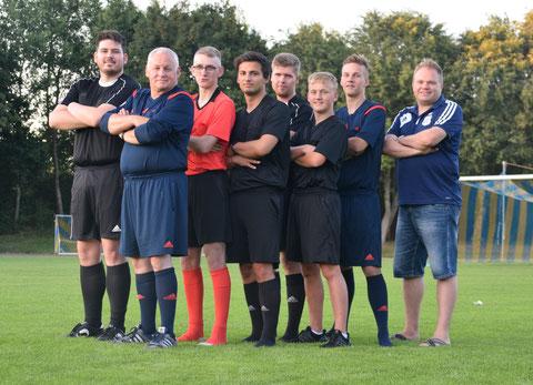 Das TuS Jevenstedt-Schiedsrichter-Team