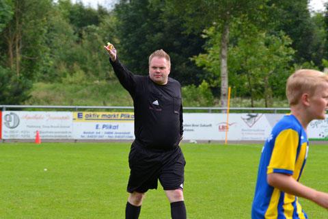 Heiko Wisser hört als Schiedsrichter auf, gibt als 1. Vors. aber weiterhin die Richtung an