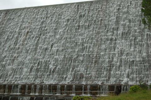 am Staudamm für dieses Reservoir wurde von 1936 bis 1942 gebaut