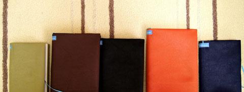 一枚で薄い本や分厚いハードカバーの本にも対応