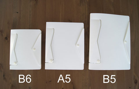 ホワイトモデル B6/A5/B5