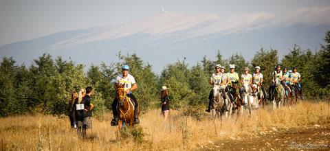 endurance équestre Revest du Bion - photo de Kévin Deperrois