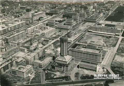Le Havre fin des années 1950