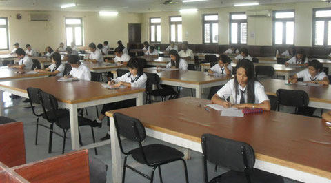 Hostel study room @Bivha international school supaul