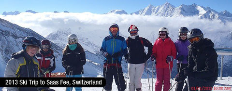 2013 Ski Trip - sponser by SIMEN support