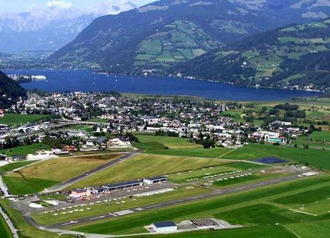 Flugplatz Zell am See  -  LOWZ