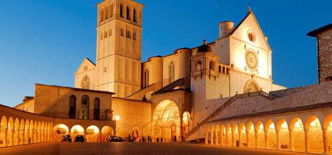 Assisi la basilica superiore