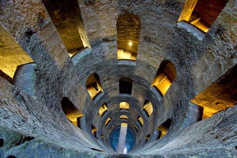 Orvieto il pozzo di San Patrizio