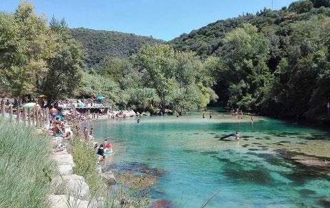 umbria narni natural pools