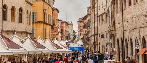 Perugia: Eurochocolate