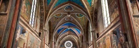 Assisi affreschi Giotto