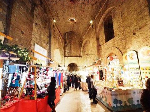 Perugia, mercatini di Natale Rocca Paolina