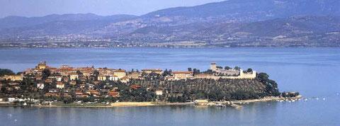 Lago Trasimeno isola Maggiore