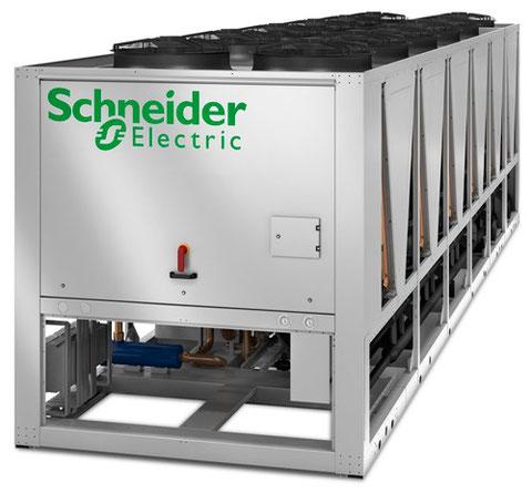 Luftgekühlte Kaltwassersätze für Serverräume