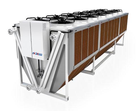 Freiluftkühler für Serverräume