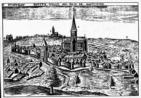 Ansicht von 1612