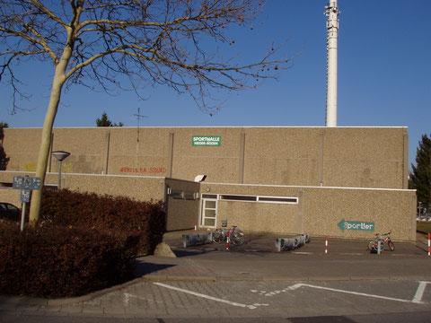 Sporthalle in der Wiesbadener Straße