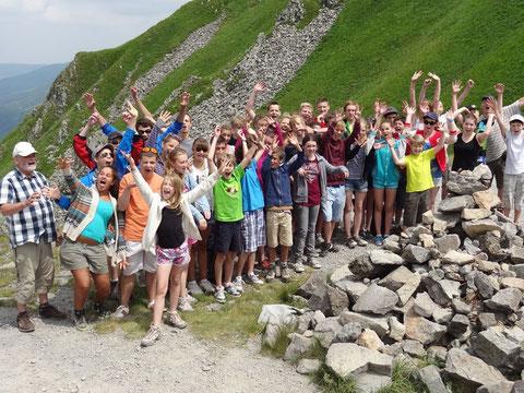 Jugendbegegnung 2013 in der Auvergne