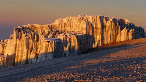 Kilimanjaro Gletscher