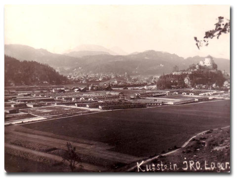 Displaced persons camp in Kufstein, Austria