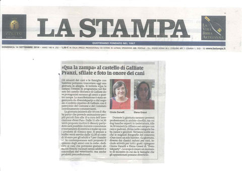 LA STAMPA - 14-09-14